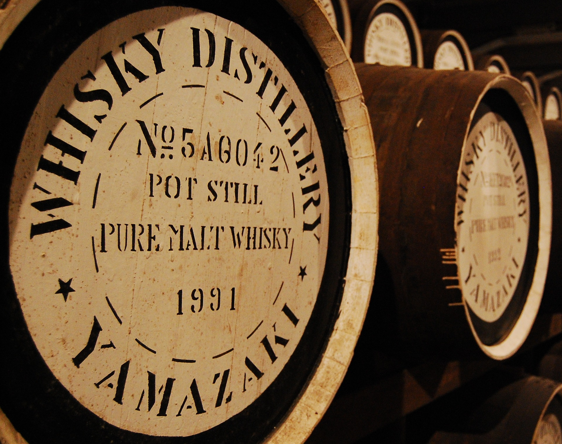 japonská whisky degustace